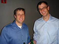 Michael and John at SearchBash