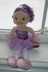 ballerina doll that the ER staff gave Cate