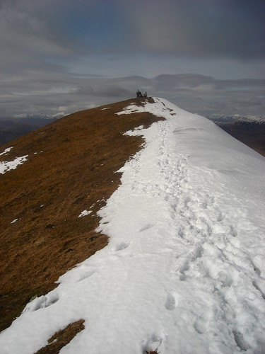 Ben Vorlich summit ridge
