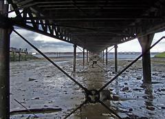 Low Tide - Under Hythe Pier (Chalto!) Tags: ferry pier seaside hampshire hythe 7356 april2008 15challengeswinner t189project365