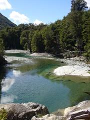 El Bolson - Trek Cajon del Azul - riviere