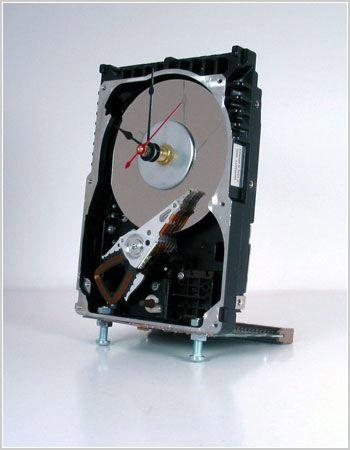 Hard disk drive clock
