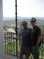 James & Tim at the Santa Barbara Courthouse. (05/03/2008)