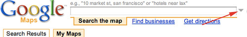New Saved Location in Google Maps