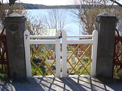Sweden-Vaxholm-Gate (kurtfeddy) Tags: sweden sverige vaxholm waxholm