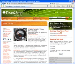 MpgGenie.com mentioned on riverwired.com