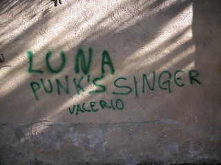 Luna Punk's Singer a.k.a. Valerio!