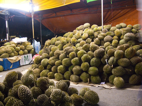 Durians in Chukai