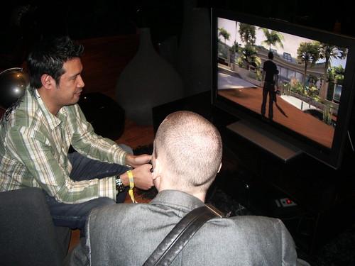 Ron Festejo enseñando Home