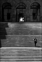 Roma 015 (malko59) Tags: street blackandwhite rome roma scale stairs shadows ombre explore biancoenero italians blackdiamond bwemotions bwdreams mywinners aplusphoto malko59 qualitypixels neroamet marcopetrino