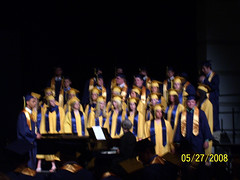 Choir performs at Baccalaureate