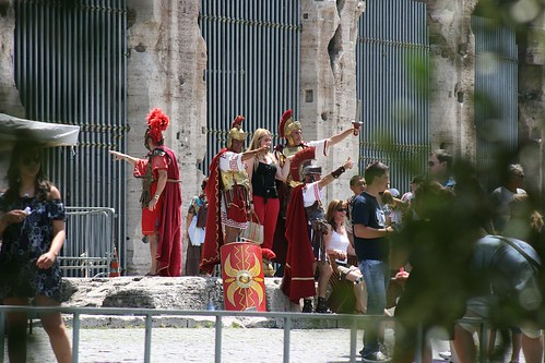Tourists and Gladiators 1