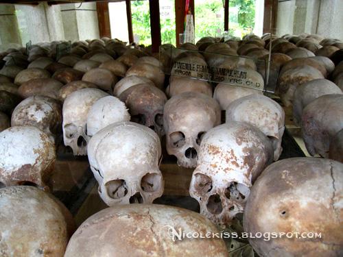 skulls of victims