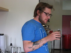 Mr Nature himself, Jared one of our Baristas