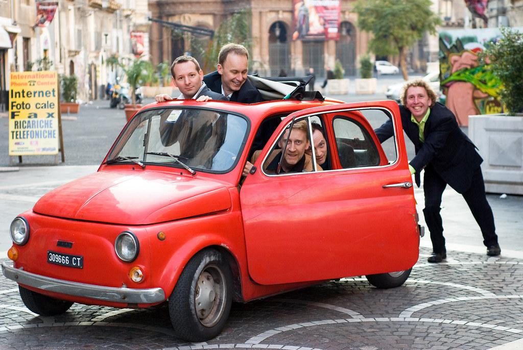 Calefax on tour - Sicily