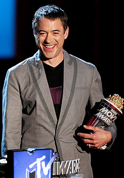 Robert Downey jr gana Mtv movie 2008