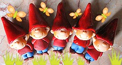 5 happy gnomes (marytempesta) Tags: