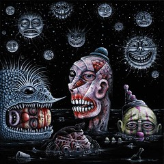 NIGHT of the DROWNING CLOWNS (rsconnett) Tags: dog fish abstract eye tattoo illustration angel drunk ego painting death see bacon artist acrylic outsider circus surrealism clown fear extreme birth dream machine pop dreaming alcoholism robots psycho shit dreams spy drug bones horror devil impressionism violence dread monstrosity euphoria cyborg dali psychotic addiction junkie addict futuristic crucifixion drunkard lowbrow medication mental dreamers infernal superego connett psychoactive
