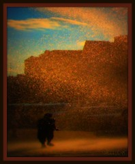 a stranger (ziggywiggy1(SHELLIE B.)) Tags: nyc color art water clouds photomanipulation experimental manhattan bluesky sensational experimentation streetscenes misterrogersneighborhood inwood woow artisticexpression dreamimages flickrcolour altereduniverse exemplaryshots artofthelight totalphotoshop leagueofwomenphotographers digifotoproaward fabulousflicks photographersgonewild artisticemotion w207thstreet aroyalpic