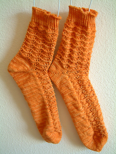 Marigold Socks- Done
