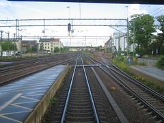 Entering Lund C (jacobchristensen) Tags: lund sweden railways railwaystations