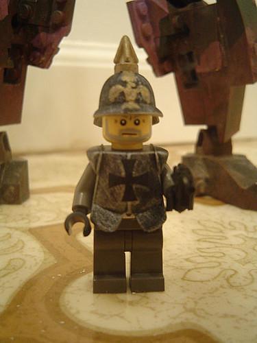 germanpilot custom minifig