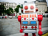 Robot in Trafalgar Square #2