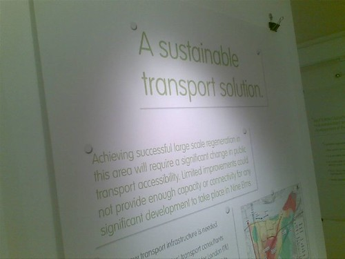 Sustainable Transport System - Battersea Power Station