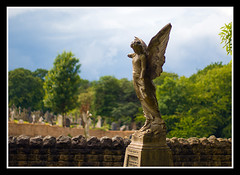 Statue (veggiesosage) Tags: nottingham graveyard architecture cemetary aficionados pentaxsmcm50mmf14 andyplattveggiesosage