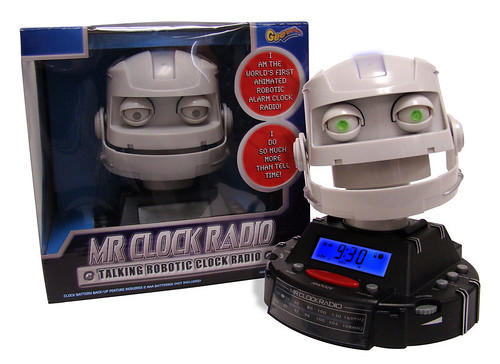 It's Mr. Clock Radio!