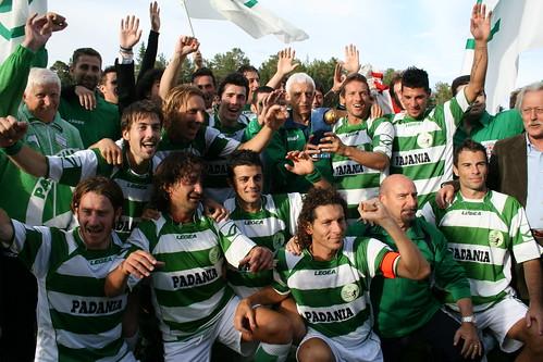 Padanian VIVA World Cup winning team