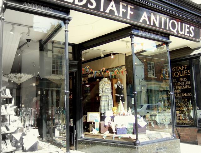 Rochester antiques shop