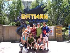 Entrada de la atracción Batman
