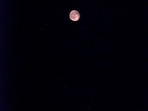 Thrusday night moon