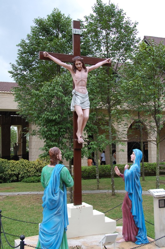 Jesus Christ on the cross, St. Anne's church Bukit Mertajam