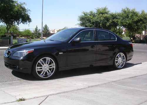 black color bmw 530i e60 · zinik_verona_bmw_530i_1, originally uploaded by