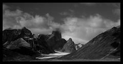 Mount Asgard (jennyBunz) Tags: mountain jamesbond baffinisland auyuittuqnationalpark thespywholovedme canadianarctic imsowitty akshayukpass mountasgard hehehegetitisaidpeakinsteadofpeek