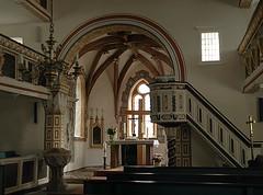 dak00349 (m-klueber.de) Tags: kunst kirche altar ev architektur 2008 barock rhn dorfkirche kanzel gotisch mansbach empore schlosskirche taufstein vorderrhn nrdliche schloskirche 20080720 dak00349 mkbildkatalog