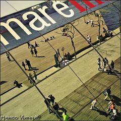 Maremagnum de Barcelona (m@tr) Tags: barcelona espaa canon catalunya pasoscatalans maremagnum ciudadcondal canonefs1855mmf3556 puertoolimpico canoneos400ddigital ciutatdebarcelona mtr marcovianna maremagnumdebarcelona