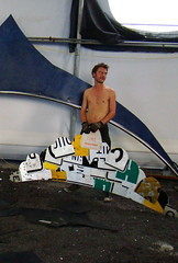 DSC02339 (jamievaida) Tags: ocean sculpture energy rotation doublehelix windturbine fishtail nelha jamievaida artacrossamerica hawaiiartacrossamerica