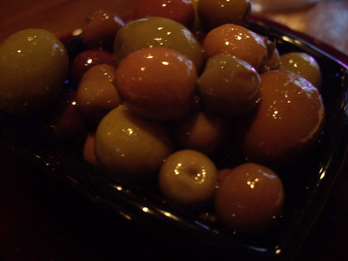 Mixed olives @ Las Ramblas