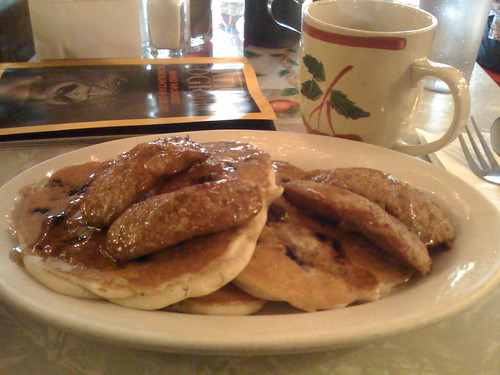 Pancakes & Sausage at Tom's 2011