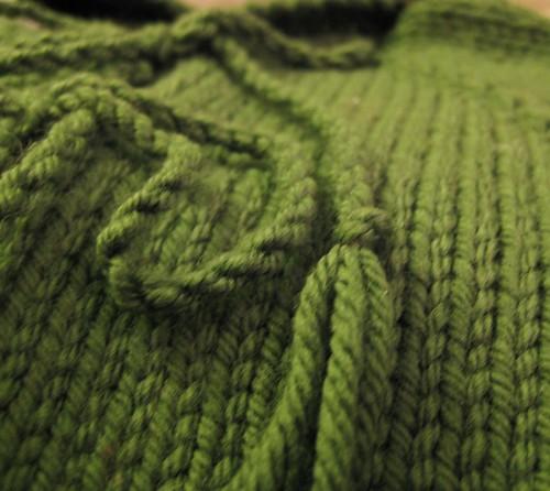 green hoodie closeup 080708