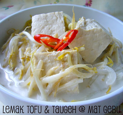 Lemak Tofu & Taugeh