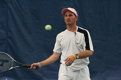 Angelo about to strike the ball (Rossetti Brothers Tennis) Tags: rally tennis longest
