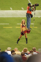 PreseasonBucsVsPats-0035 (awinner) Tags: game football cheerleaders stadium nfl cheerleader 2008 raymondjamesstadium preseason tampaflorida tampabaybuccaneers newenglandpatriots august2008 august17th2008