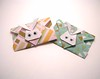Mini Bunny Origami Envelopes