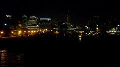 La ciudad desde el río 2 (N i c o_) Tags: city argentina rio ferry night river lights noche buenosaires sony capital ciudad federal h9 riodelaplata