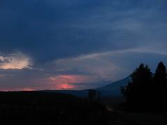 Lightning on Mt. Adams August 17, 2008 (Starlisa) Tags: sky storm night washington lightning mtadams troutlake img2812 starlisa aug172008