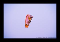 Kitesurfing en La Flora - Rosario - Argentina (otogno) Tags: costa praia beach argentina argentine rio skyline river sand blu fiume playa victoria ponte arena bleu rosario pont alta parana brcke  fleuve ribera laflorida  balneario cometa   argentinien   ponticello  barrilete